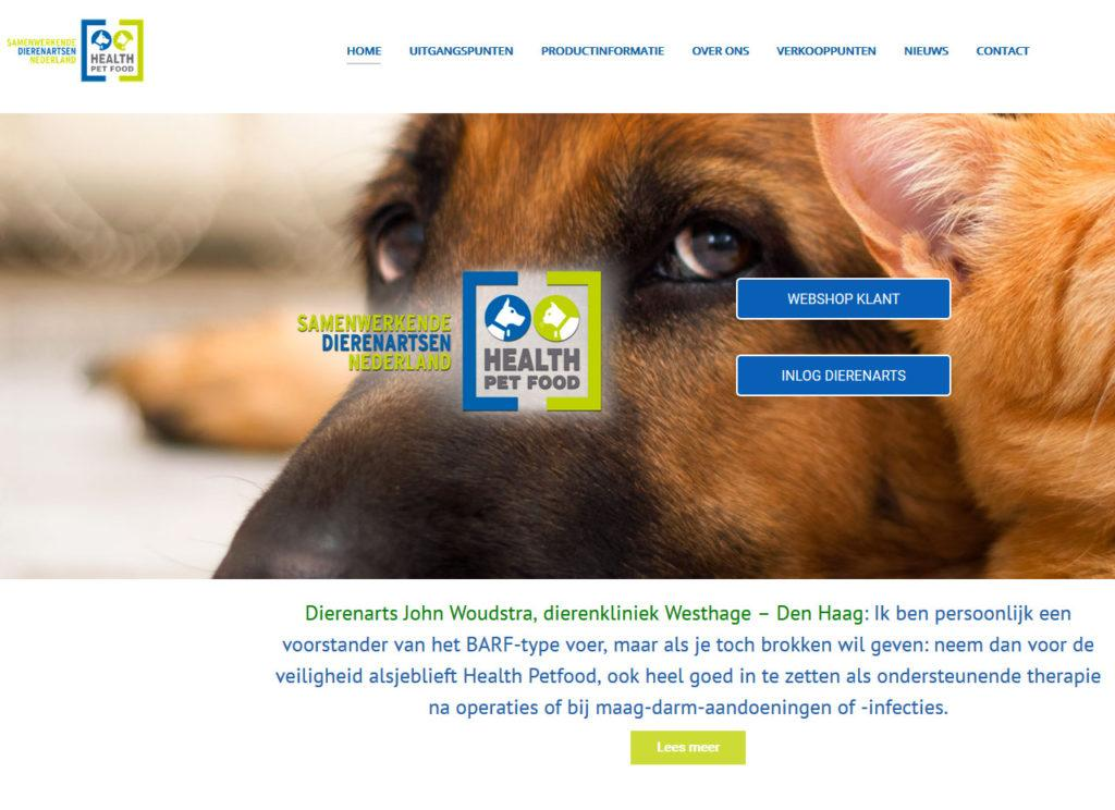 website Health Petfood