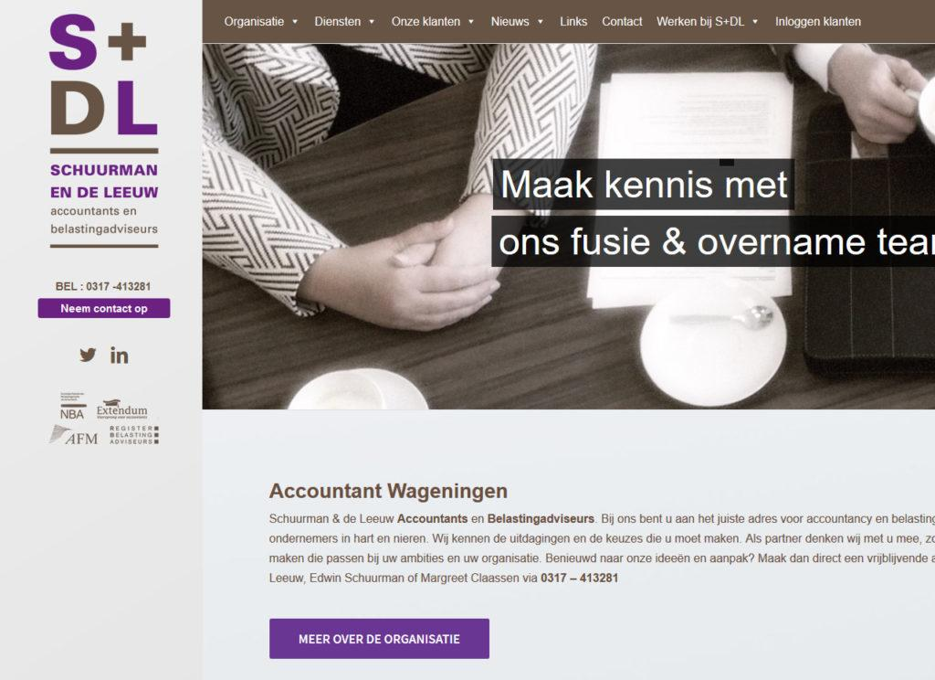 website schuurman en de leeuw