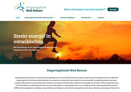 Omgevingsfonds west betuwe