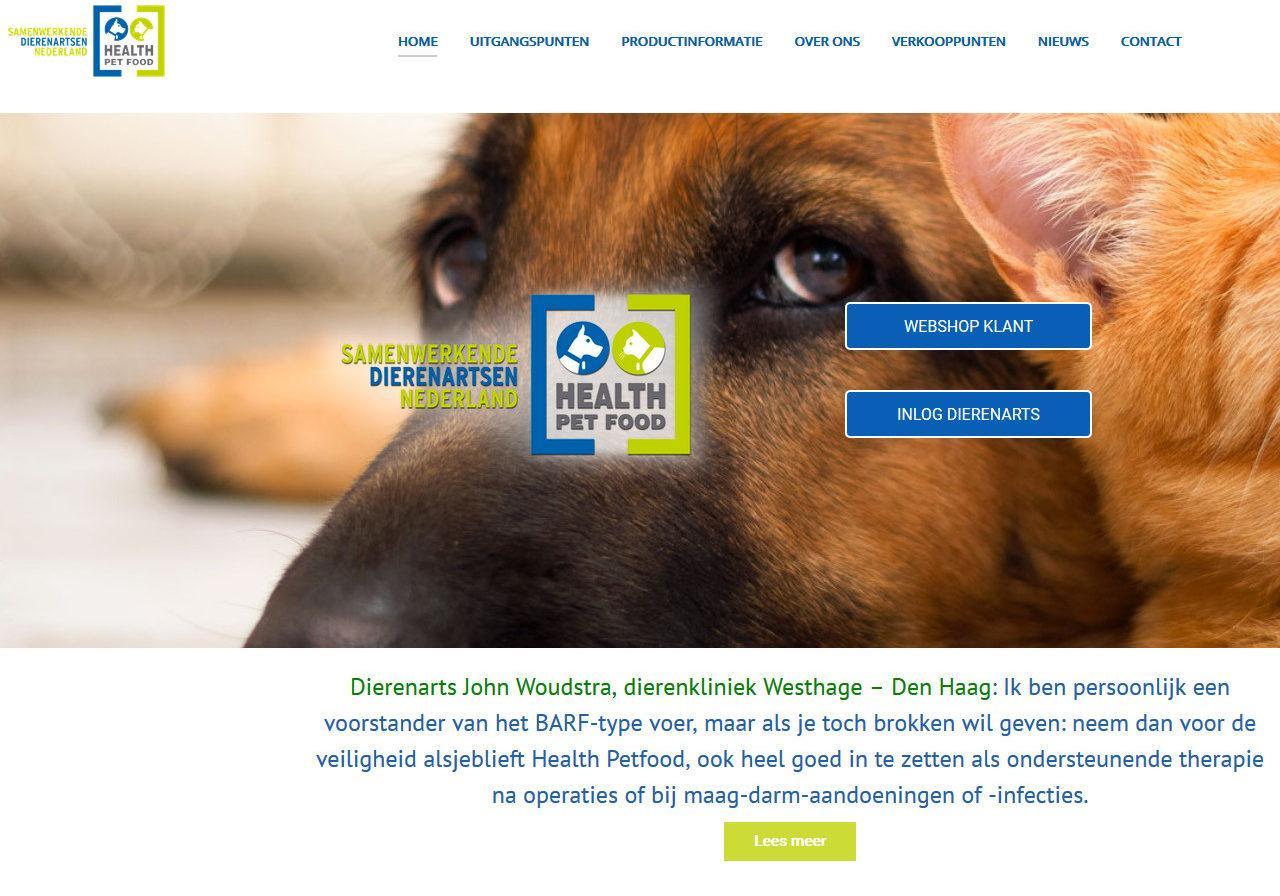 website Health Petfood